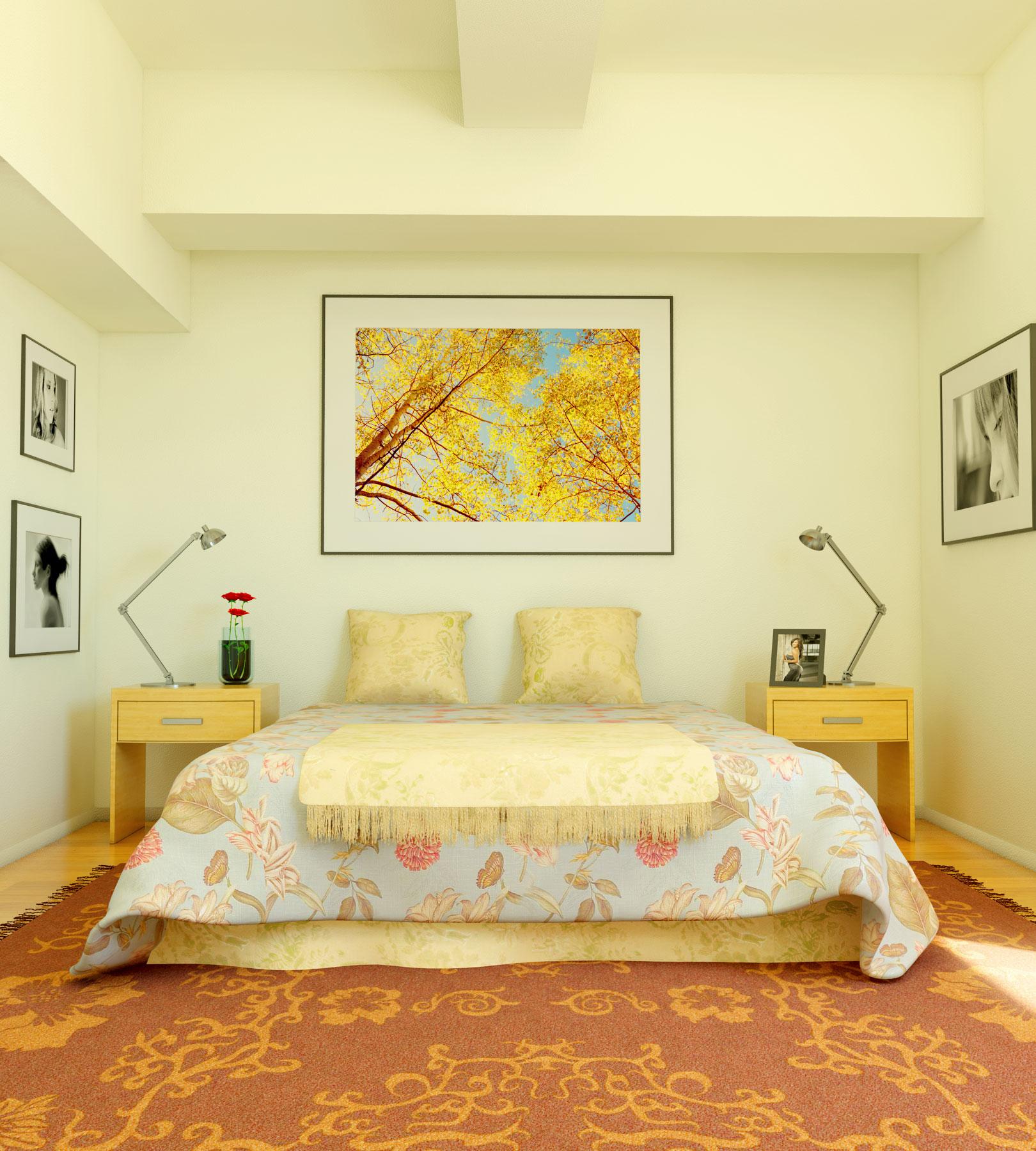 Colores para dormitorios decoraci n de dormitorios - Decoracion pared dormitorio ...